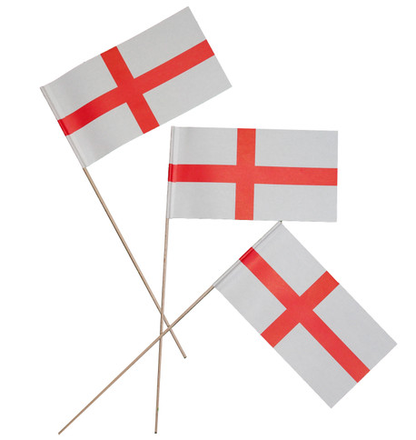 England flags Red And White
