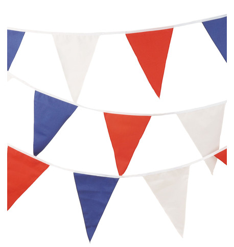 RED WHITE & BLUE BUNTING Red White And Blue