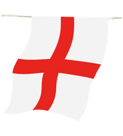 England FLAG OUTDOOR BUNTING - Red and White