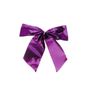 Purple LUREX BOW - SMALL - Purple