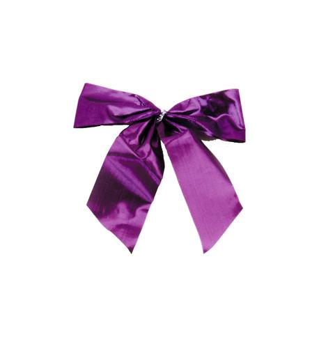 Purple LUREX BOW - SMALL Purple