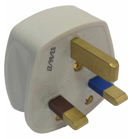 3AMP PLUGS White
