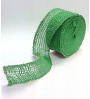 Green JUTE RIBBON - Green