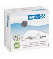 RAPID NO 26 STAPLES - Silver