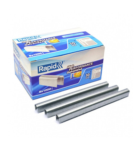 RAPID NO 36 CABLE STAPLES Silver