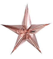 FOIL STARS - FOLD OUT - Pink