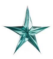 FOIL STARS - FOLD OUT - Ice Blue