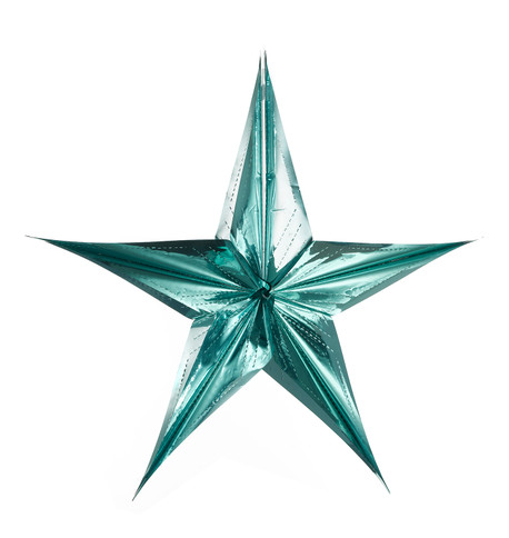 FOIL STARS - FOLD OUT Ice Blue
