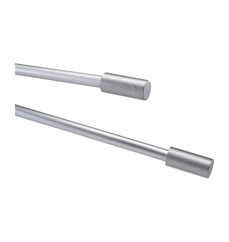 METALLIC BANNER POLES Silver