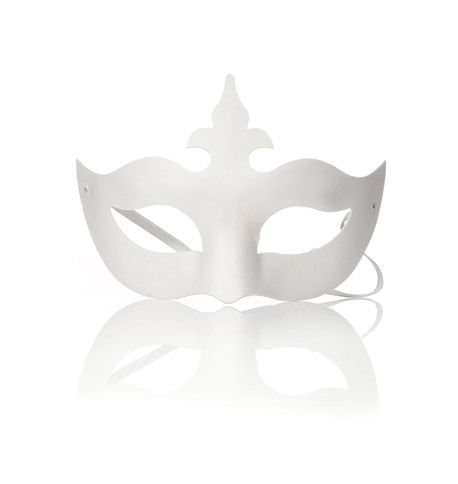 TIARA BLANK MASK White