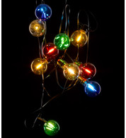 GIANT FESTOON LIGHTS - MULTICOLOUR - Multicoloured