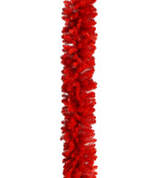RED PINE GARLAND - Red