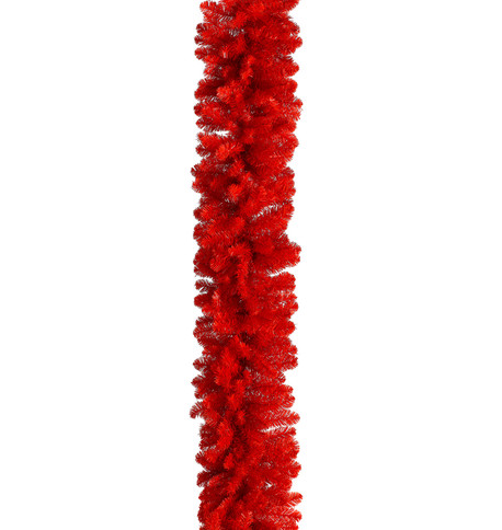 RED PINE GARLAND Red