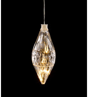 LED CRYSTAL LIGHT - DROP SHAPE - Warm White