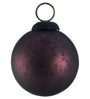 PURPLE GLASS OMBRE BAUBLES - Purple