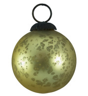GOLD GLASS OMBRE BAUBLES - Gold