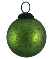 GREEN GLASS OMBRE BAUBLES - Green