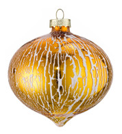 OIL GLAZE GOLD GLASS ONION - Gold