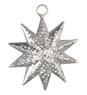 PIERCED METAL STARS - SILVER - Silver