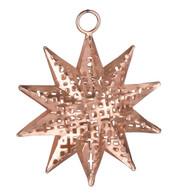 PIERCED METAL STARS - COPPER - Copper