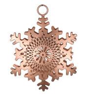 PIERCED METAL SNOWFLAKES - COPPER - Copper