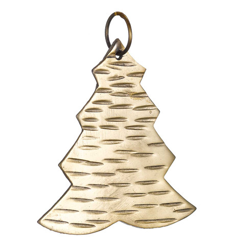 Hammered METAL TREE - GOLD Gold