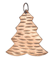 Hammered METAL TREE - COPPER - Copper