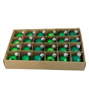 Green 30mm Baubles - Green