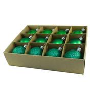 Green 48mm Baubles - Green