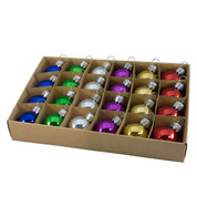30mm BOXED BAUBLES - MIX E - Mixed