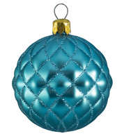 QUILTED BAUBLES - MATT DUCK EGG - Blue