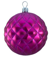 QUILTED BAUBLES - PINK MATT - Pink