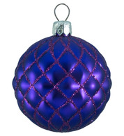 QUILTED BAUBLES - PURPLE MATT - Purple