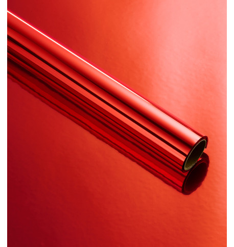 Metallic FOIL WRAP - RED Red