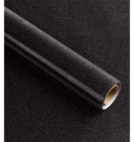 GLITTER WRAP - BLACK Black