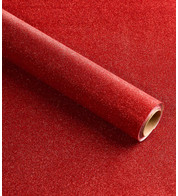 GLITTER WRAP - RED - Red