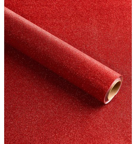 GLITTER WRAP - RED Red