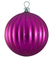RIBBED BAUBLES - Pink