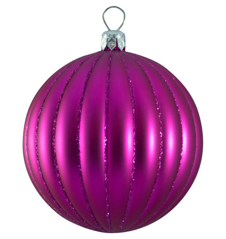 RIBBED BAUBLES Pink