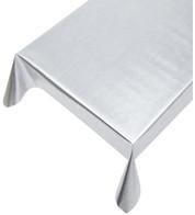SILVER METALLIC PVC - Silver