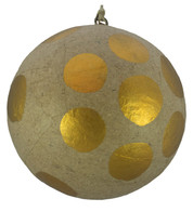 KRAFT BAUBLES - COPPER dots - Copper
