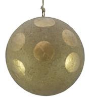 KRAFT BAUBLES - GOLD dots - Gold