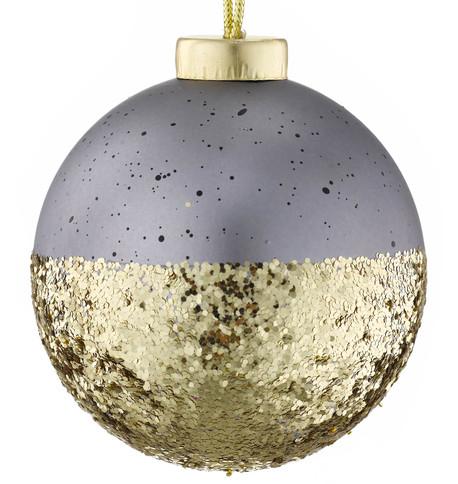 URBAN GLAMOUR CONCRETE & GOLD GLITTER Gold