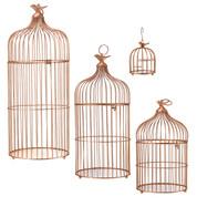 METAL BIRD CAGES - COPPER - Copper