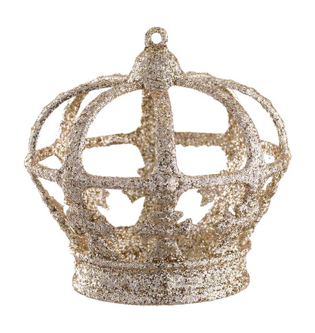 CHAMPAGNE GLITTERED CROWN Champagne