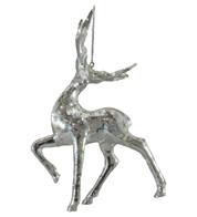 TROTTING SILVER DEER - Silver