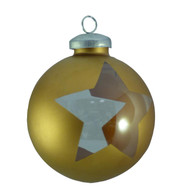 CUT OUT WRAP STAR BAUBLES - Copper - Copper