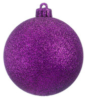 GLITTER BAUBLES - ROYAL PURPLE - Purple