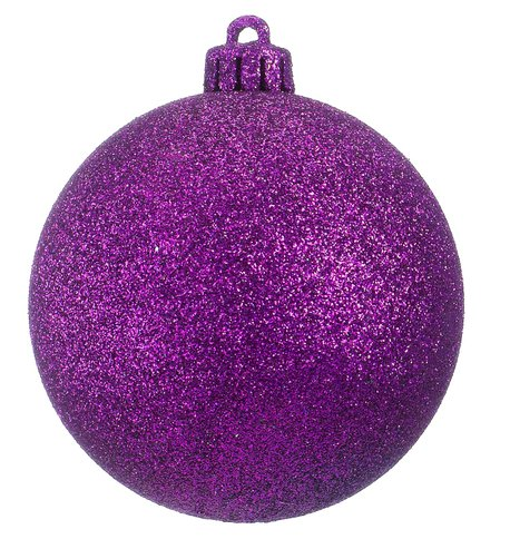 GLITTER BAUBLES - ROYAL PURPLE Royal Purple