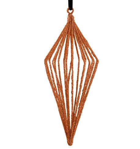 Glitter wire drop - copper Copper